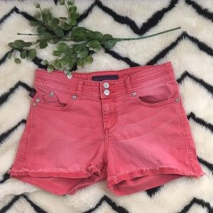 Rock & Republic Red Shorts Size 6 ❤️